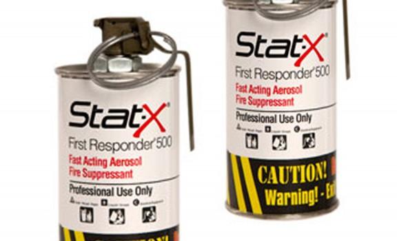 2 unités Stat-X First Responder sans boitier de transport
